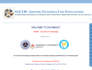 iwcem.org screenshot