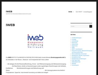 iweb-info.de screenshot