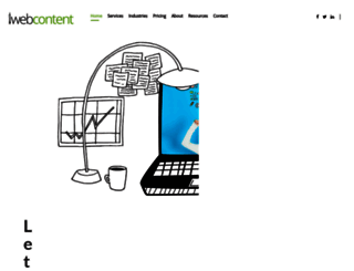 iwebcontent.com screenshot