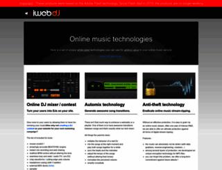 iwebdj.com screenshot
