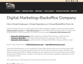 iwebresources.com screenshot