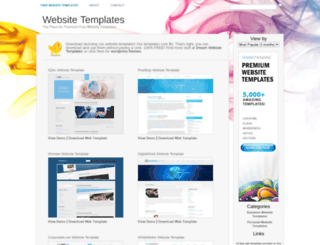 iwebsitetemplate.com screenshot