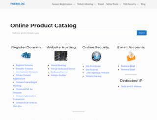 iwebslog.com screenshot