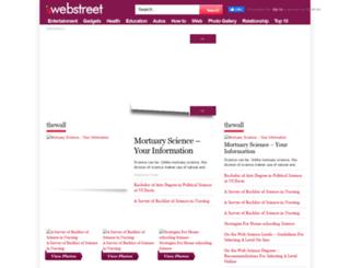 iwebstreet.com screenshot