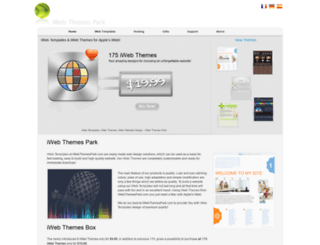iwebthemespark.com screenshot
