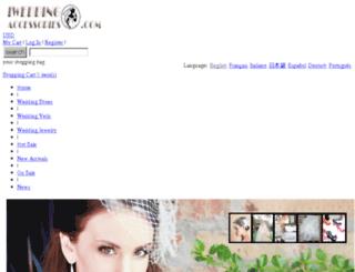 iweddingaccessories.com screenshot