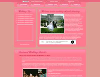 iweddingchapels.com screenshot