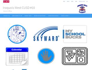 iwest.k12.il.us screenshot