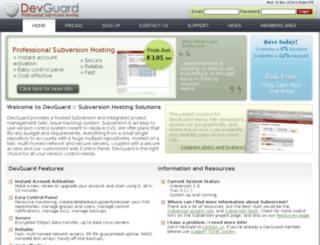iwg.devguard.com screenshot