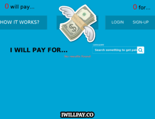 iwillpay.co screenshot
