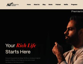 iwillteachyoutoberich.com screenshot