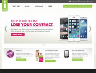 iwirelesshome.com screenshot