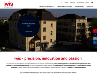 iwis.com screenshot