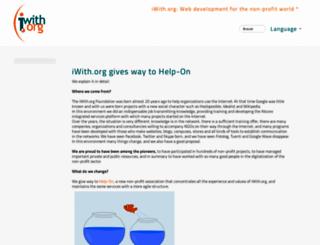 iwith.org screenshot