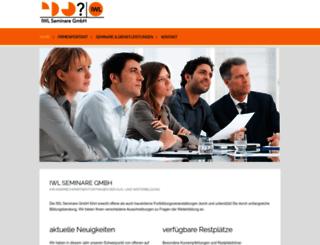 iwl-seminare.de screenshot
