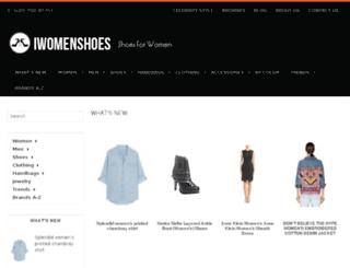 iwomenshoes.com screenshot