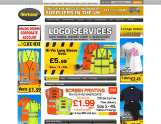 iworkwear.co.uk screenshot