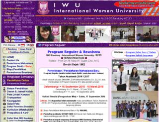iwu.web.id screenshot