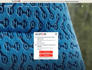 iww.alstom.com screenshot