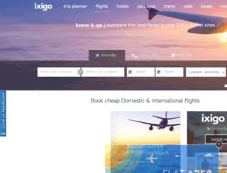 ixigo.de screenshot