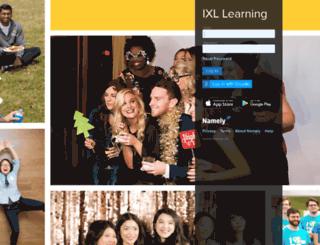 ixl.namely.com screenshot