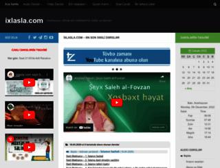 ixlasla.com screenshot