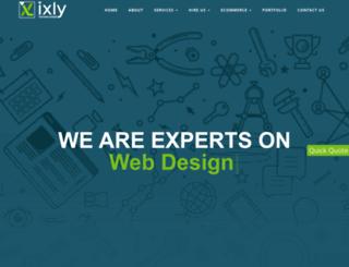 ixly.in screenshot