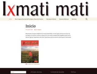 ixmatimati.mx screenshot