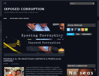 ixposedcorruption.org screenshot