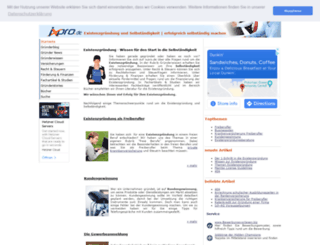 ixpro.de screenshot