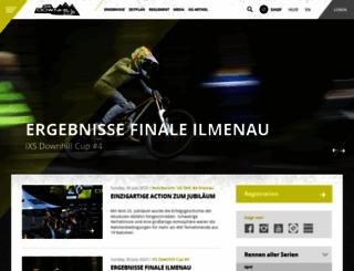 ixsdownhillcup.com screenshot