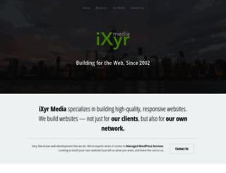ixyr.com screenshot