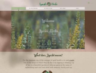 iyashiherbs.com screenshot
