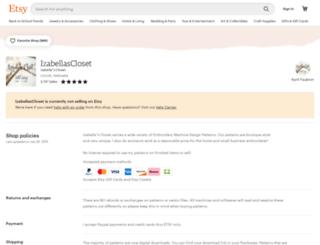 izabellascloset.com screenshot