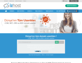 izhost.com screenshot