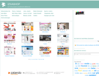 izivashop.com screenshot