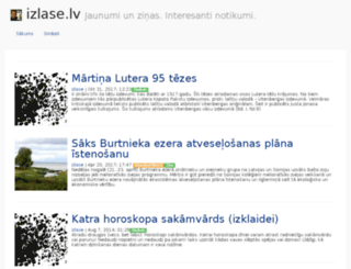 izlase.lv screenshot