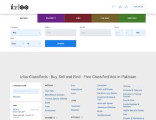 izloo.com.pk screenshot