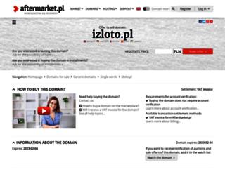 izloto.pl screenshot