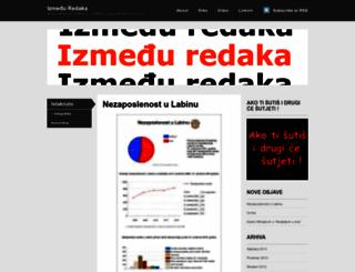 izmedjuredaka.wordpress.com screenshot