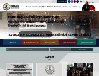 izmirbarosu.org.tr screenshot