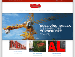 izmirtabela.com.tr screenshot
