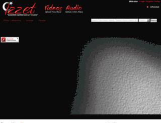 izzet.com screenshot