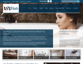izzibath.com screenshot