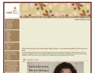 izzienfriends.com screenshot