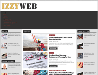 izzyweb.net screenshot