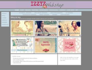 izzyz.nl screenshot