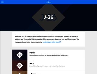 j-26.com screenshot