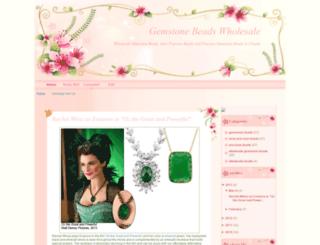 j-gemstonebeads.blogspot.com screenshot