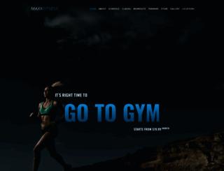 j-maxx-fitness.torbara.com screenshot